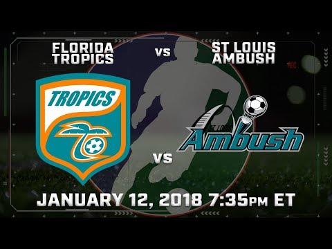 Florida Tropics vs St Louis Ambush