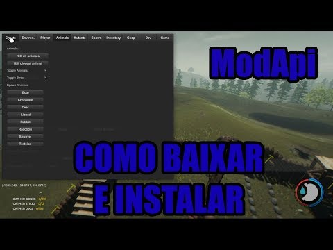 COMO BAIXAR E INSTALAR O MODAPI THE FOREST - Tutorial