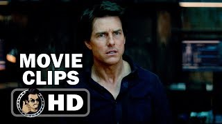 THE MUMMY - 4 Movie Clips + Trailer (2017) Tom Cruise Horror Action Film HD