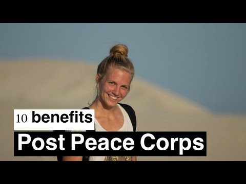 10 Post-Peace Corps Benefits | RPCV Perks