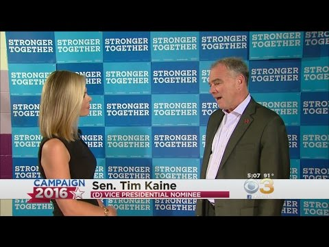 Democratic VP Candidate Tim Kaine On Hillary Clinton
