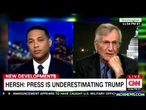 """Seymour Hersh """"He (Trump) Got Rid Of 2 Dynasties! He Got Rid Of The Bushs And The Clintons For Us!o"""