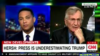 "Seymour Hersh ""He (Trump) Got Rid Of 2 Dynasties! He Got Rid Of The Bushs And The Clintons For Us!o"