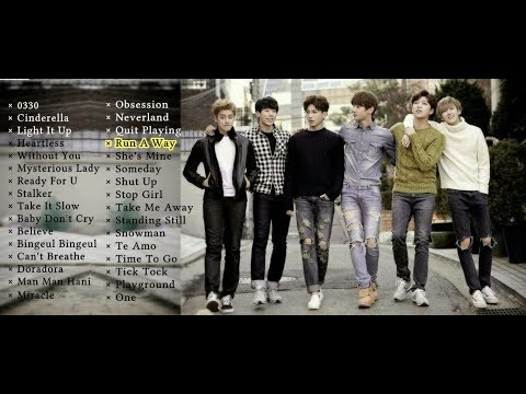 U-KISS HIT/BEST SONGS - 2008 to 2017 ~ Korean Edition