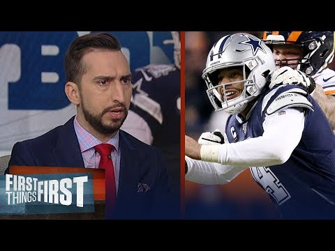 Cowboys were punched back, and they just folded vs Bears — Nick Wright | NFL | FIRST THINGS FIRST