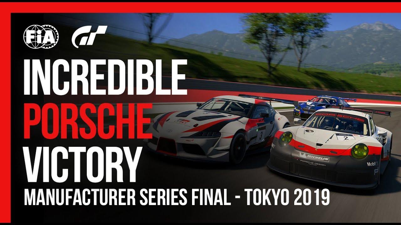 Porsche's Incredible FIA Gran Turismo Championship Victory