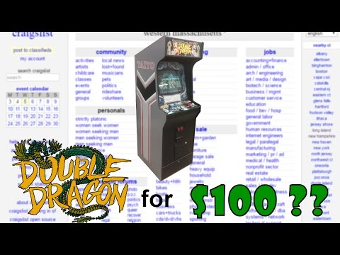 $100 Double Dragon Craigslist score! - Repair and Tuneup