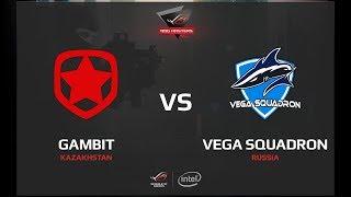 Gambit vs Vega Squadron, map 1 overpass, ROG MASTERS 2017 Grand Finals
