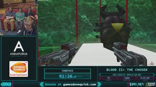 Blood II: The Chosen by Cubeface in 29:44 - AGDQ 2018 - Part 59
