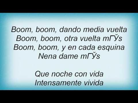 Ricky Martin - La Bomba Lyrics