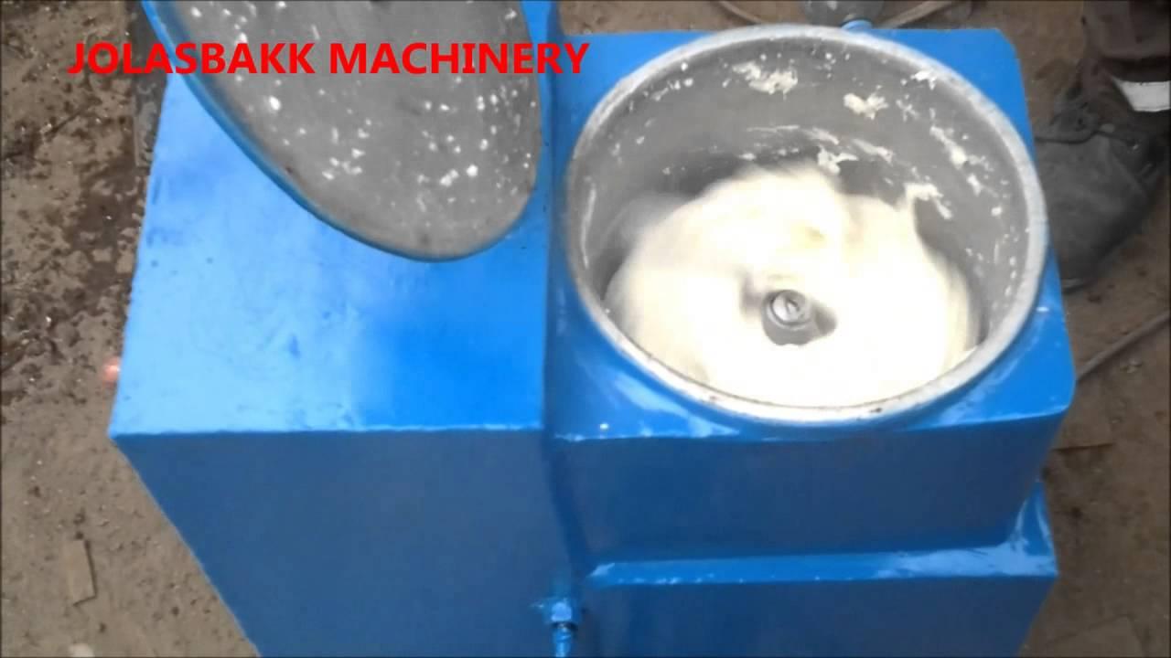 pounding yam machine