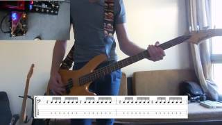 Royal Blood - Lights Out Bass cover with tabs