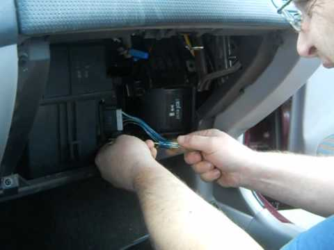 How To Change A Blower Motor Resistor On A 2002 Mazda