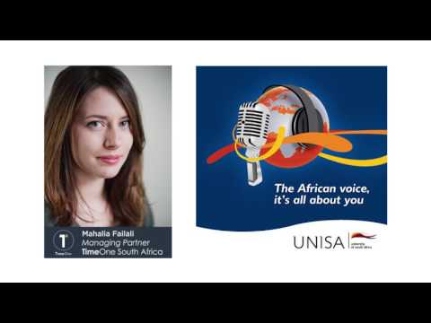 Unisa Radio Flysafair Interview - Mahalia Failali Timeone - South Africa