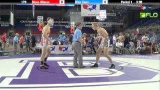 Junior 170 - Steve Ullman (Colorado) vs. Max Hane (Oregon)