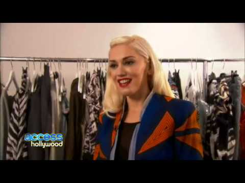 Gwen Stefani Interview on Her Spring 2011 L A M B  Collection