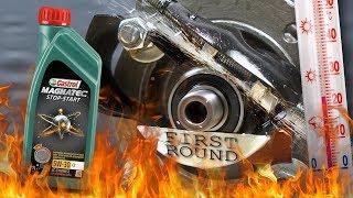 Castrol Magnatec Stop-Start 5W30 C2 Jak skutecznie olej chroni silnik? 100°C