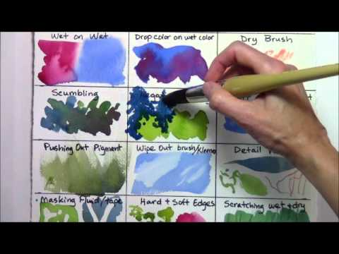Watercolor Techniques for Beginners REMAKE part 4 of 4