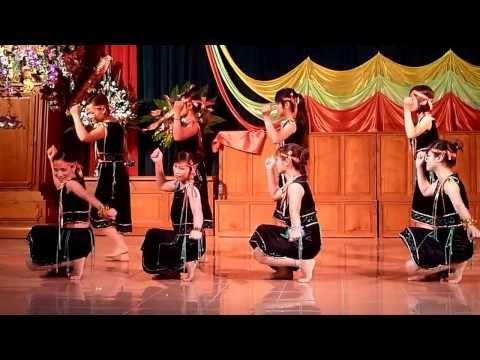 Múa Rừng xanh vang tiếng ta lư (LH ca múa nhạc huyện Kim Thành - HD 2013)
