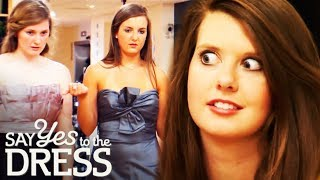 Bossy Bridesmaids Try To Influence Bride's Dress Decision | Say Yes To The Dress Bridesmaids
