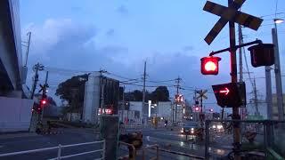 折尾駅前踏切 最後の活躍