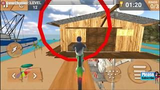 Bike Race Free / Motorbike Stunts Game / Bike Simulator / Android Gameplay Video