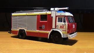 Складання моделі пожежного автомобіля КАМАЗ 43253 АЦ 40 AVD models
