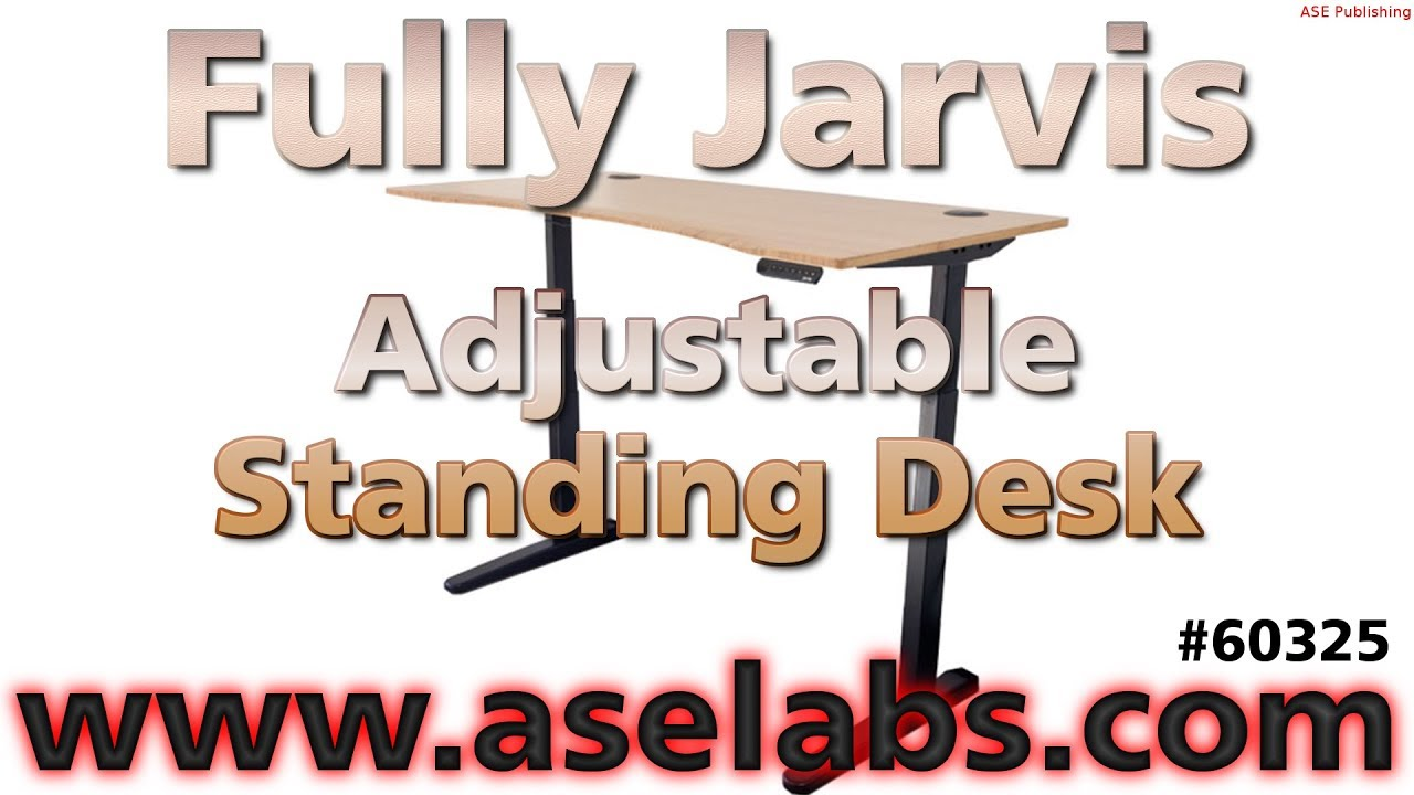 Fully Jarvis Adjuststable Standing Desk Review - ASE Labs