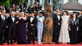 Solo: A Star Wars Story Cast At Cannes 2018 Red Carpet