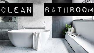 БЕЗ УБОРКИ Минимализм и чистота в ванной*