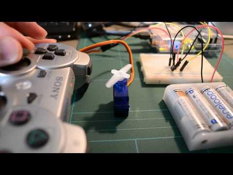Raspberry Pi Controlling A Sg90 Servo Via A Bluetooth