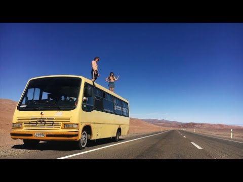 Travelling in a Schoolbus from Chile to Canada