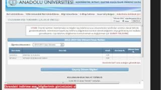 AÖF öğrencileri için vize işlemleri