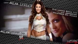 "WWE [HD] : Eve Torres Unused Theme - ""She Looks Good"" (Angry Kids Remix) + [Arena Effect][DL]"