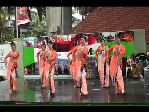 Rakhine Performance Burma Food & Cultural festival sydney2011