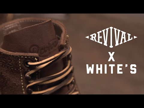 Revival X White's Motorcycle Boots