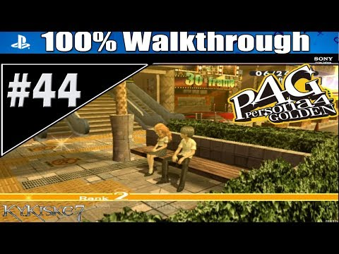 Persona 4 Golden - 100% Walkthrough  P.44 -Moon/Ai 2, Searching For Clues. 06/24-25