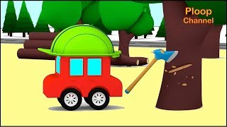 Cartoon Cars - FASTEST CHOPPER? - Children's Cartoons - Childrens Animation Videos for kids
