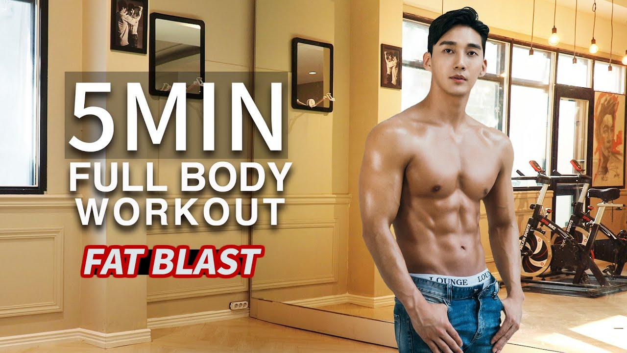 Quick and Effective FAT BLAST (ft. 5 min Full Body Workout)  l  살빠지는 전신 근력운동 (ft. 5분 타바타)