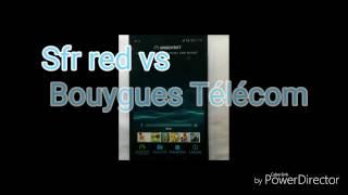 News et actu speed test débit  réseau 4G . Sfr red 4G  vs bouygues Télécom 4G