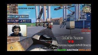 Intense Fight B/w Youtubers| 19 Kills| Kronten & Shreman vs LoLzZz Gaming | PUBGM Highlights