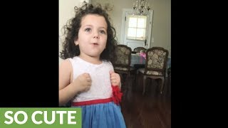 Awe-inspiring toddler sings 'My Way' by Frank Sinatra