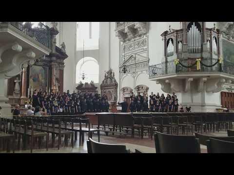 Psalm 121 JHSS Choir Europe 2017 Salzburg