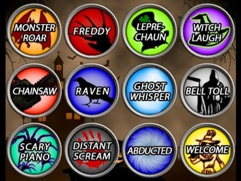 Halloween Soundboard Spooky Sound Box Free iPad App Review