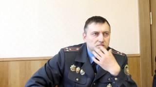 Начальник управления уголовного розыска УВД облисполкома Виктор Чикунов