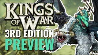 Kings of War 3rd Edition Preview