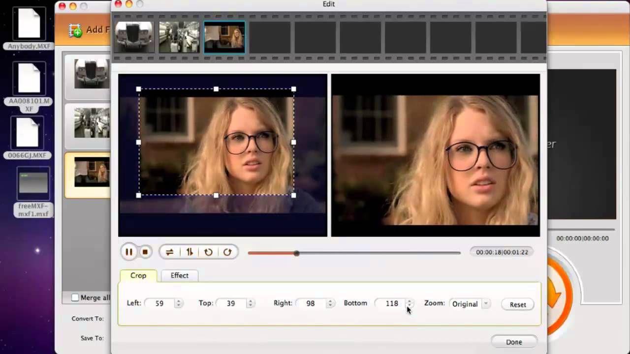 Free mxf video file converter