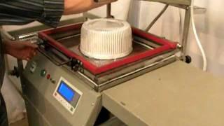 Изготовление коробок для тортов(КБ Парус http://kbparus.com.ua Вакуумная упаковочно-формовочная машина Для изготовления блистеров, скин-упаковки...., 2011-09-07T09:56:42.000Z)