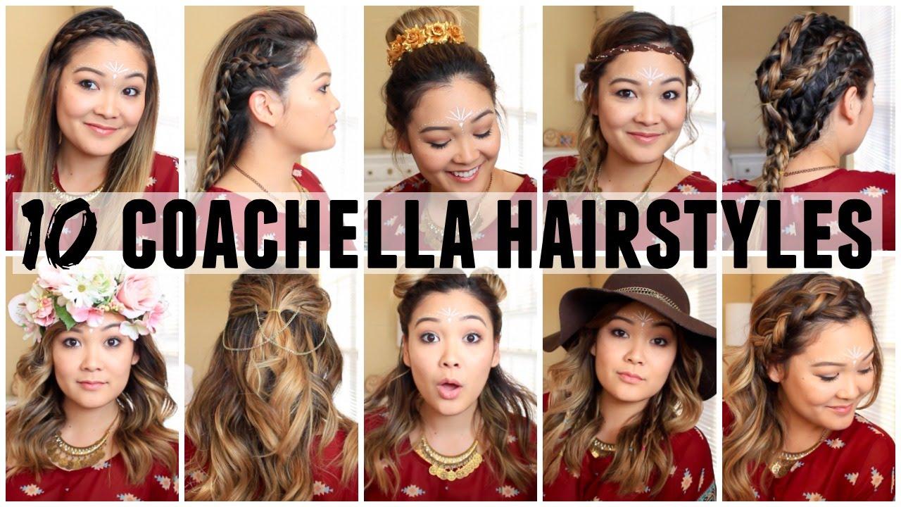 A Hairstyles For Short Hair: 10 COACHELLA HAIRSTYLES