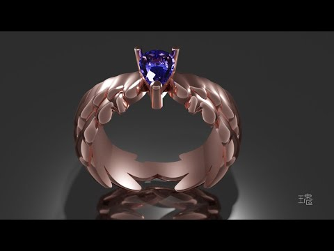 Blender 3D Jewelry Design Tutorial 018 Time-lapse thumbnail